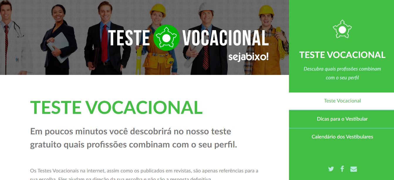 Teste vocacional online.PNG